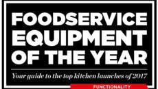 Foodservice Equipment of the Year 2017 - Functionality