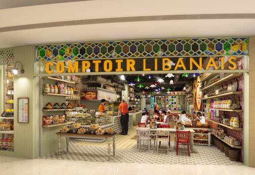 Comptoir Grand Central, Birmingham, illustration