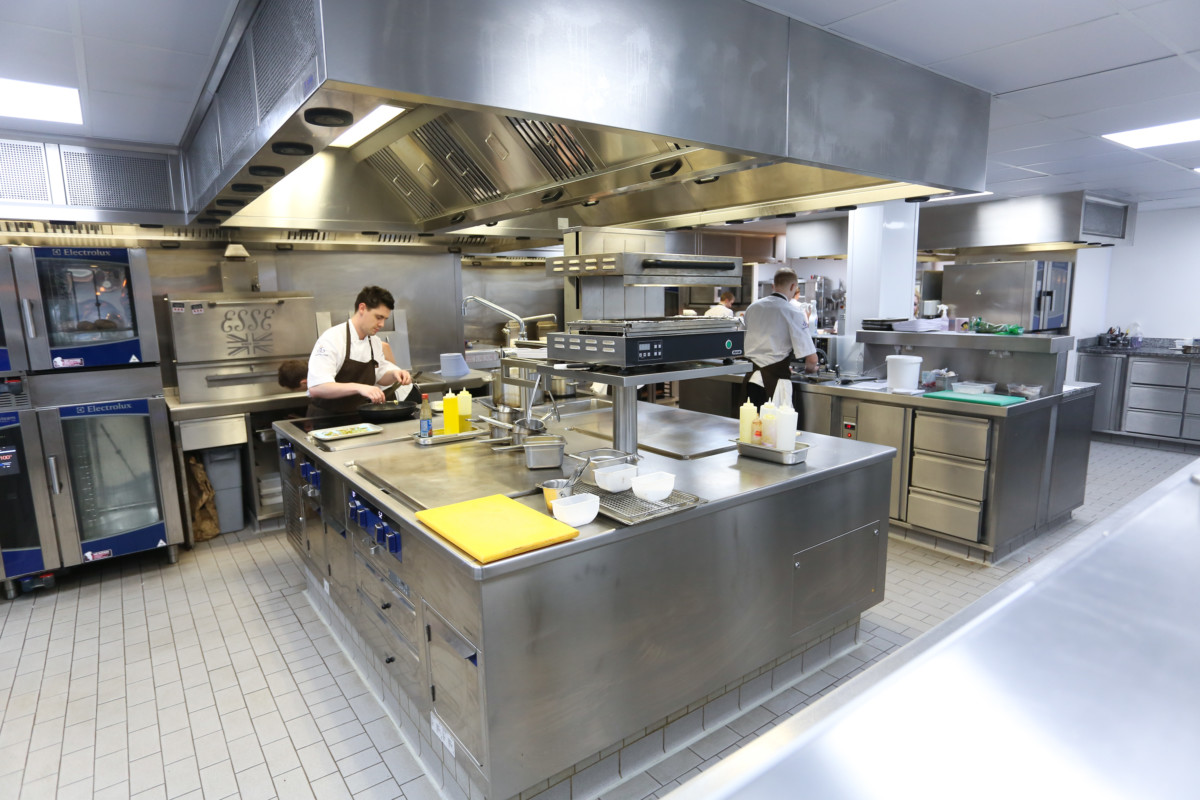 Electrolux Professional Thermaline cooking suite at Northcote