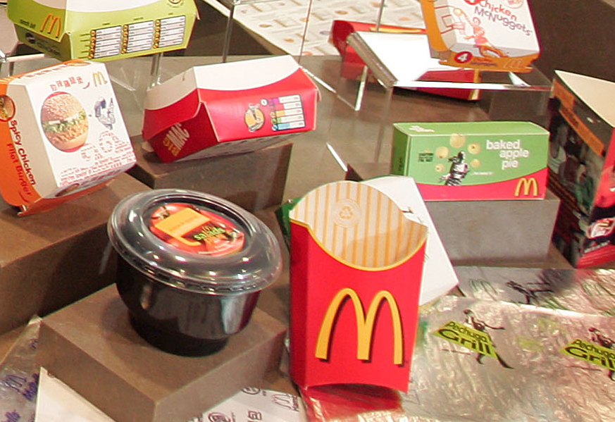 McDonald's packaging