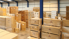 Pentland Wholesale warehouse