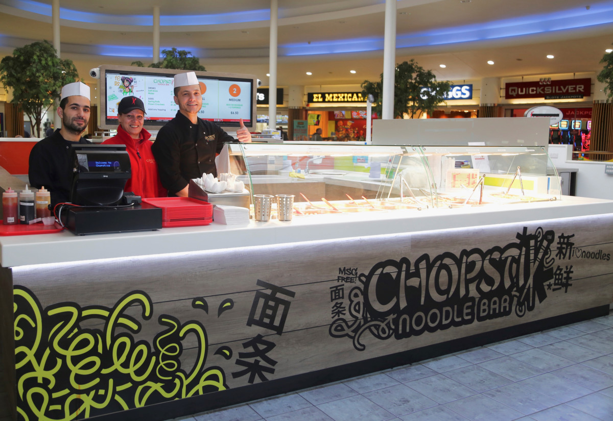 Chopstix Noodle Bar island unit