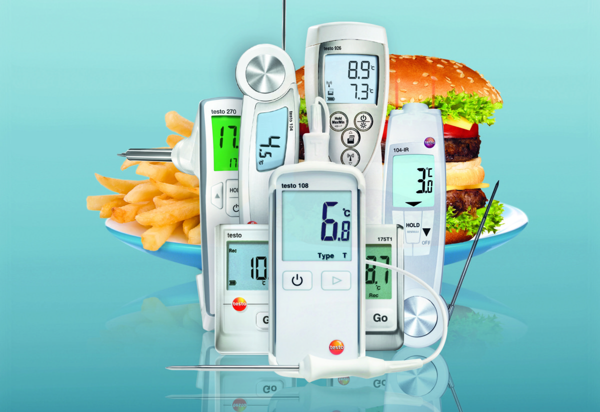 Testo foodservice solutions