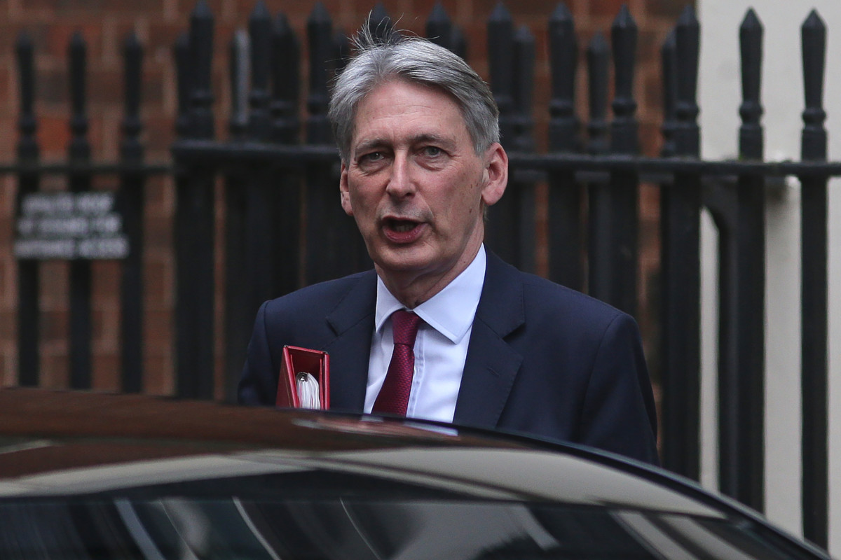 Philip Hammond, Chancellor of the Exchequer