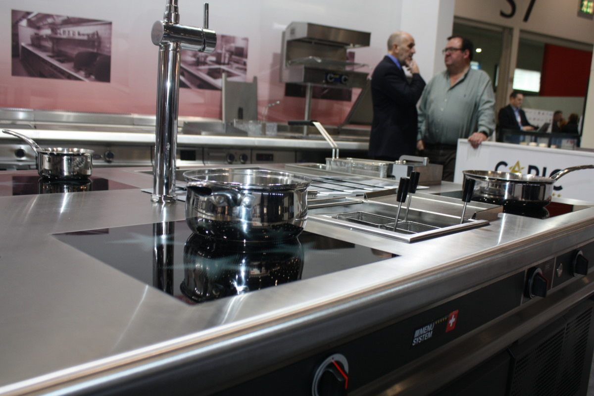 Exclusive Ranges stand at Hotelympia 2018