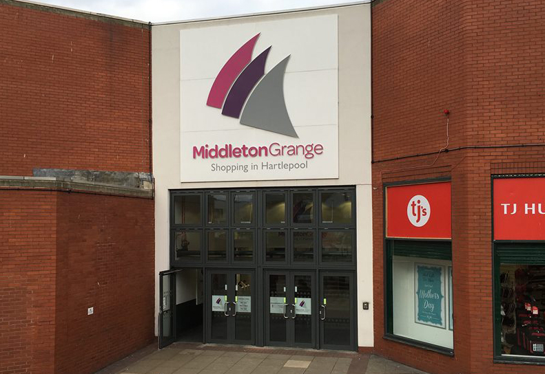 Middleton Grange shopping centre, Hartlepool
