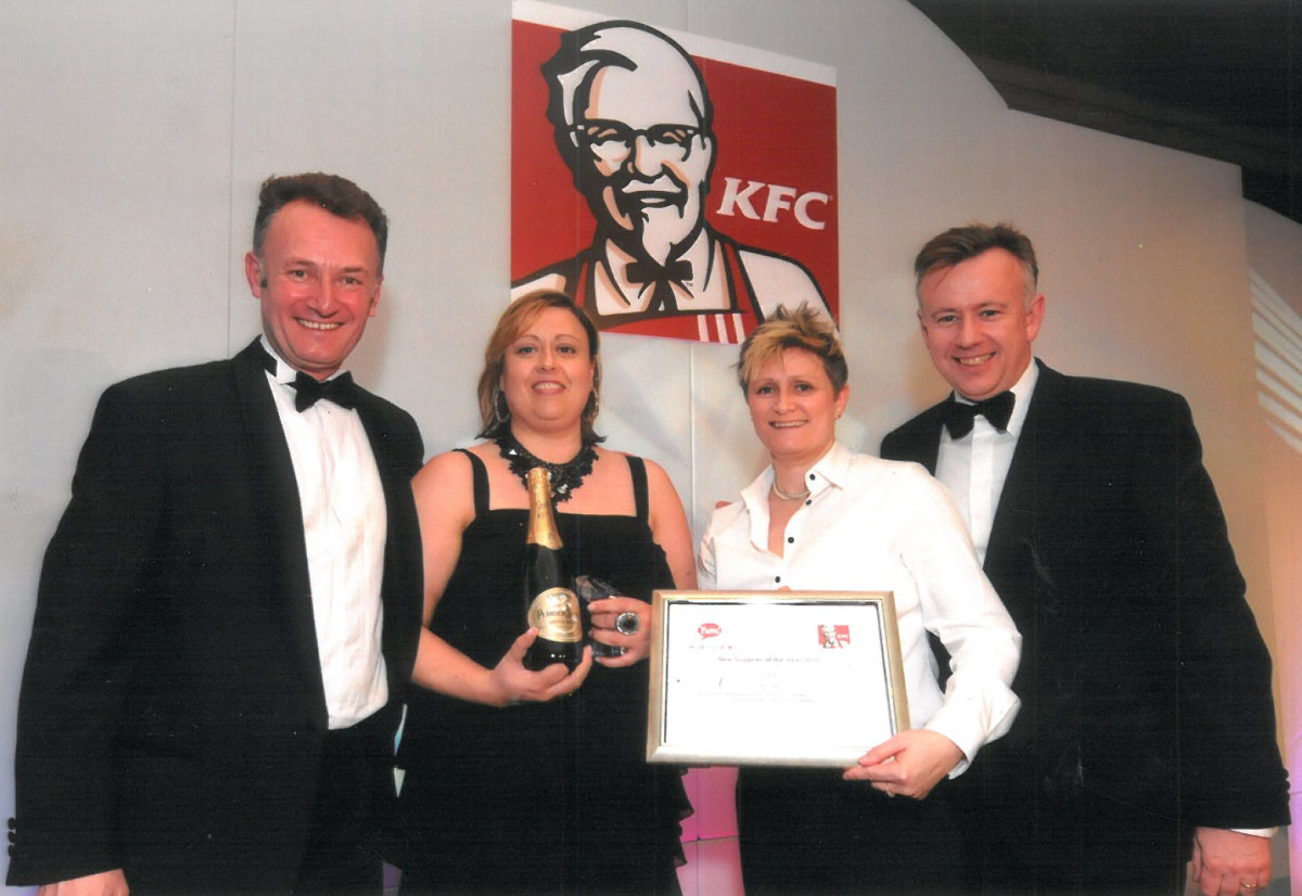Anna McNamara, managing director (second left)