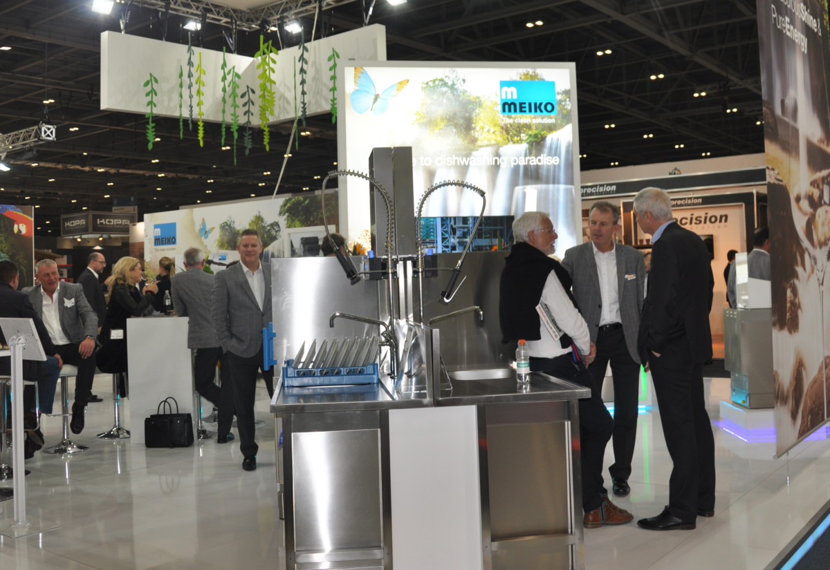 Meiko stand at Hotelympia 2018