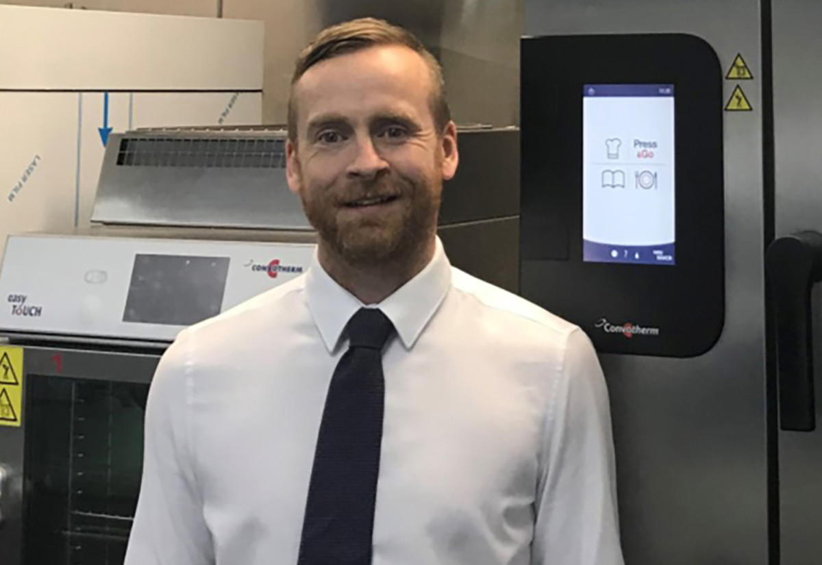 Paul Burrows, sales manager Scotland & North of England