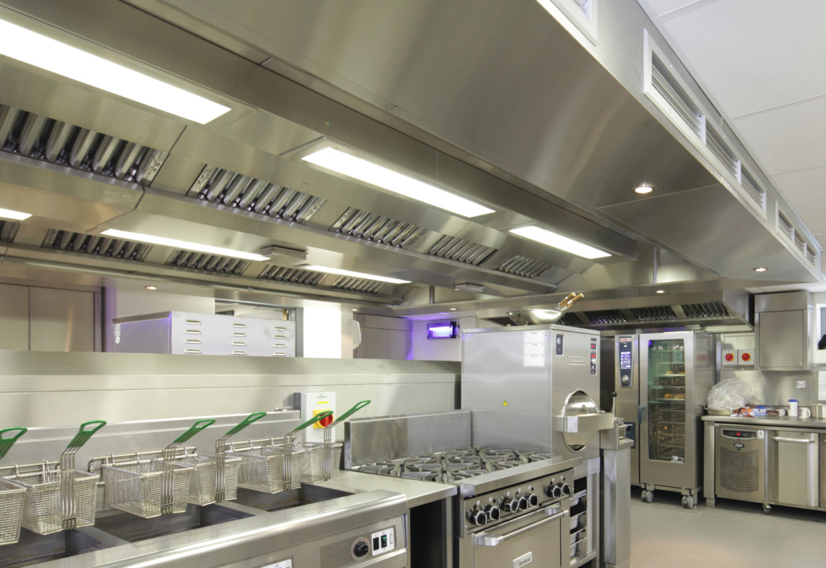 University of Liverpool kitchen