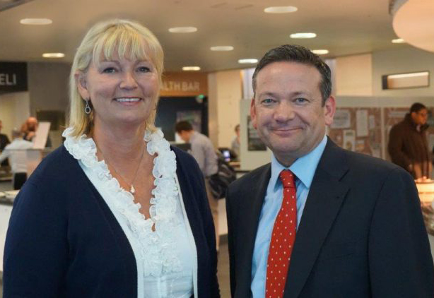 Wendy Bartlett, founder and Ian Thomas, CEO