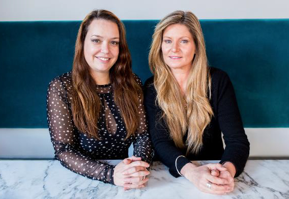 Catherine Salway and Andrea Waters, founders