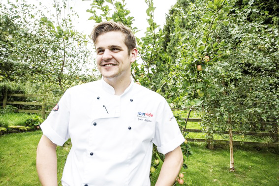 Josh Adams, development chef