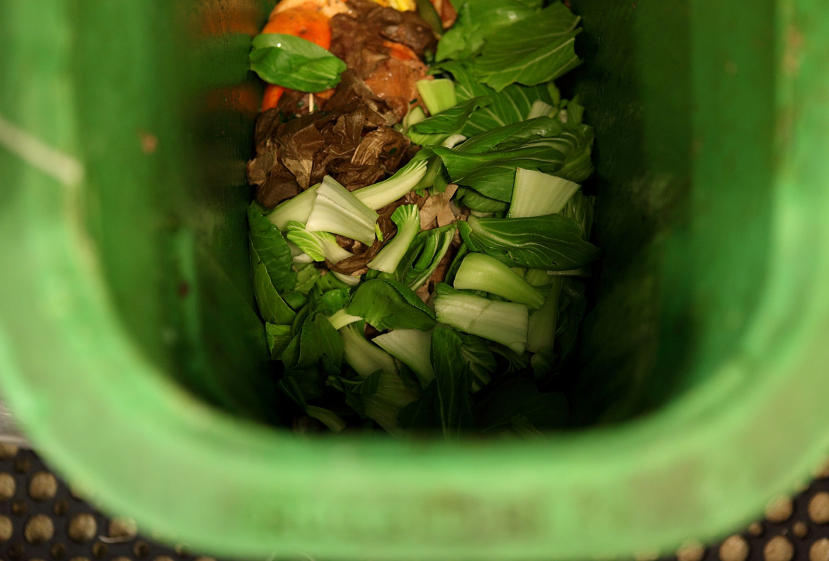 Food waste greens