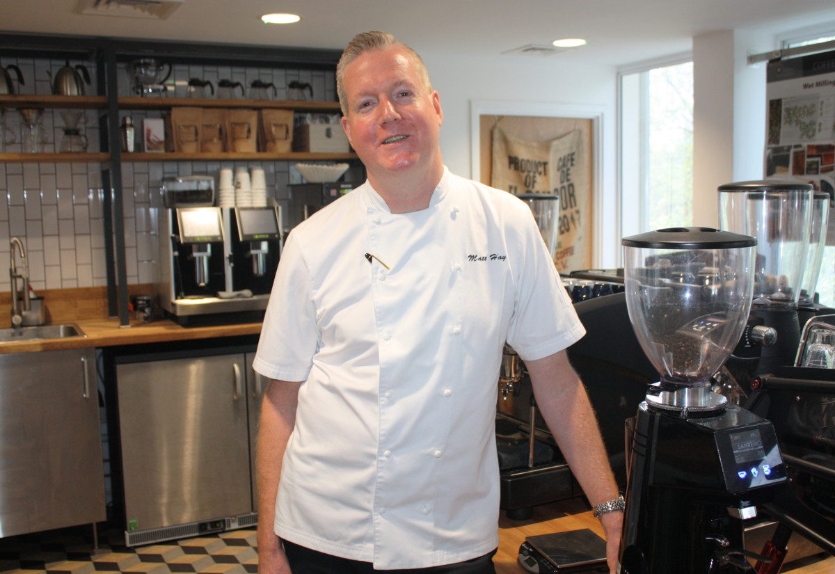 Matt Hay, chef director