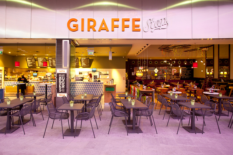 Giraffe Stop grab-and-go concept