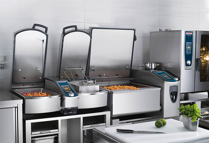 Rational multifunctional cooking centres