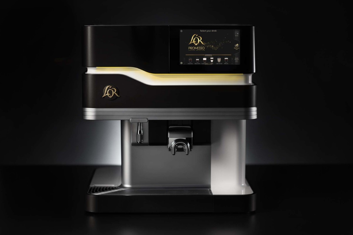 L'Or Promesso machine front