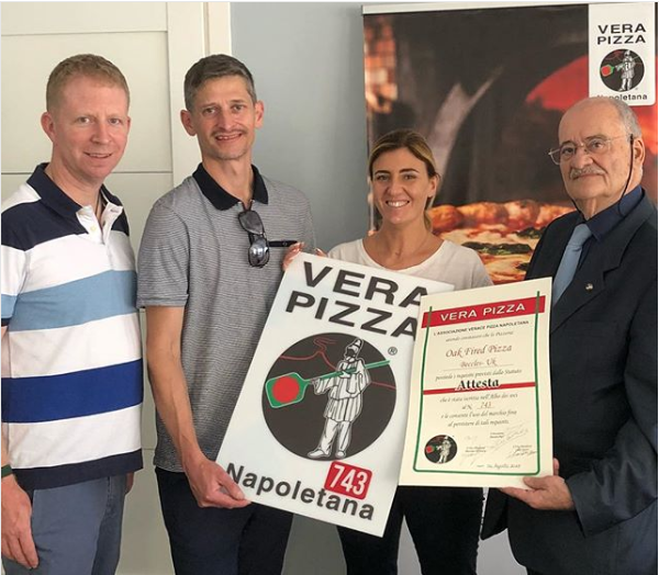 The Royal Oak, Beccles, achieves Associazione Vera Pizza Napoletana (AVPN) accreditation