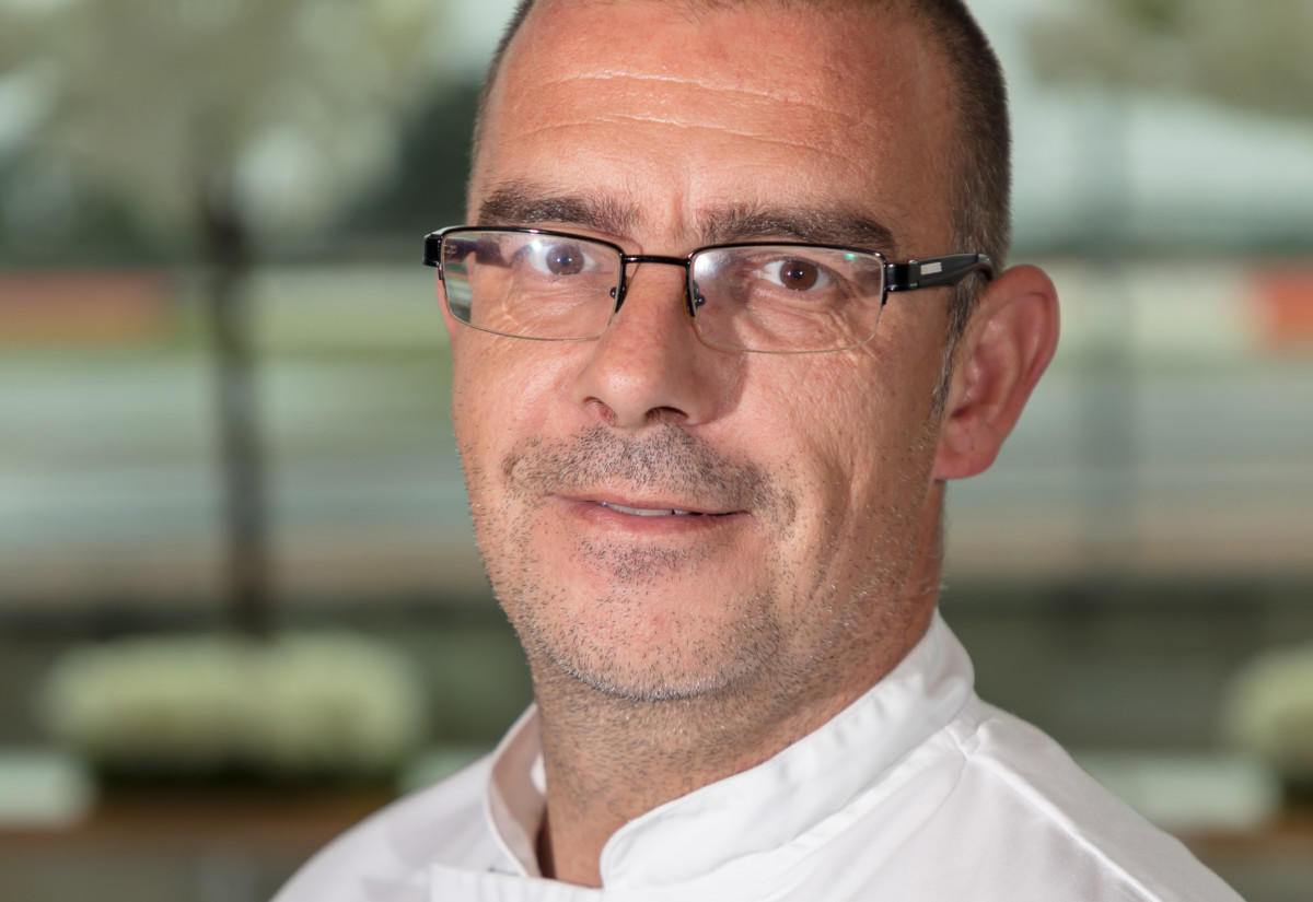 Dean Hoddle, head chef