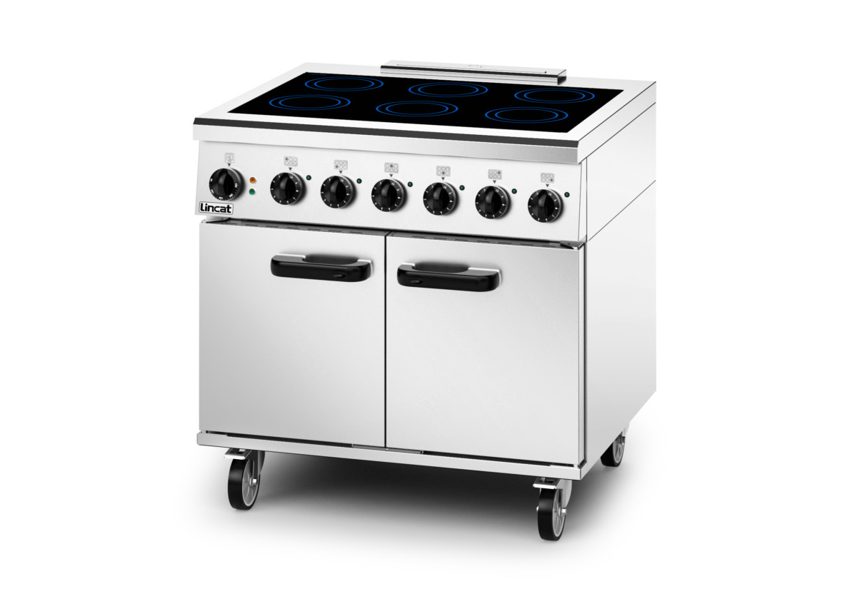 Lincat single-phase induction oven range