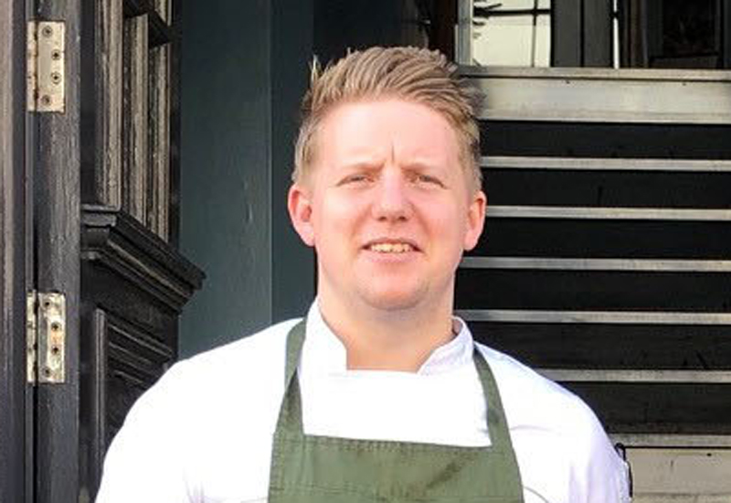 Elliot Hill, head chef, Oddfellows