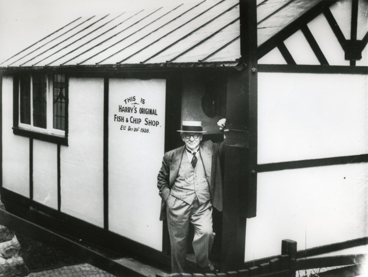 Harry Ramsden, Guiseley hut