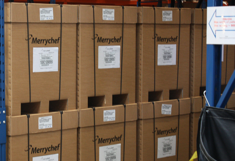 Merrychef boxes