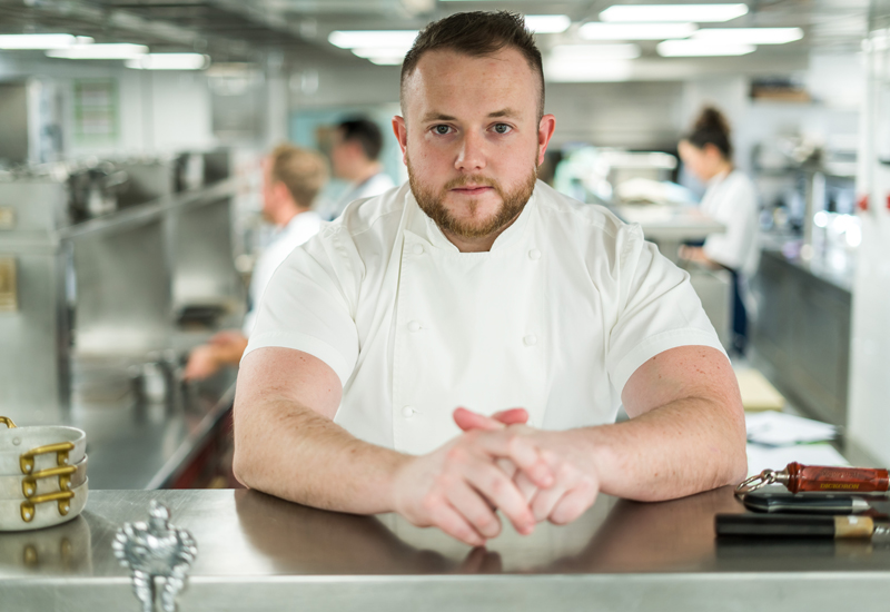 Niall Keating, executive chef