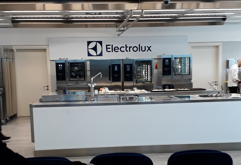 Electrolux demo kitchen, Pordenone, Italy