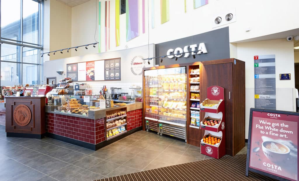 Costa Coffeee, The Royal Blackburn Teaching Hospital 1