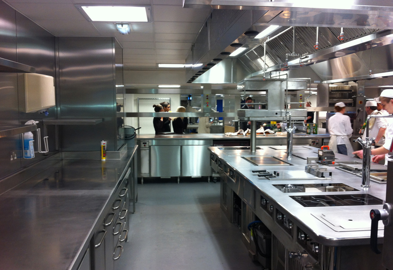 Royal Garden Hotel kitchen
