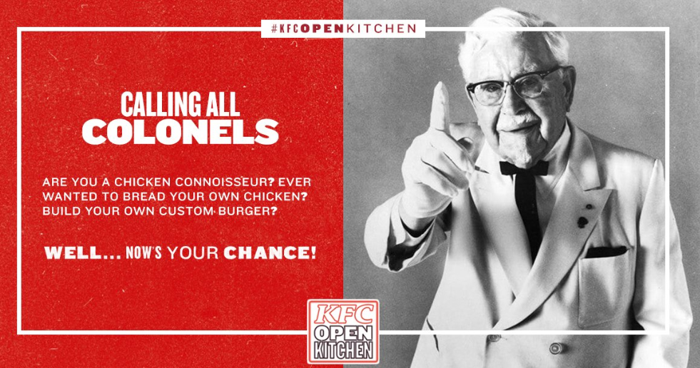 KFC Open Kitchen experience