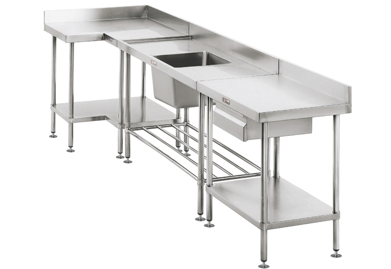 Simply Stainless L-bench