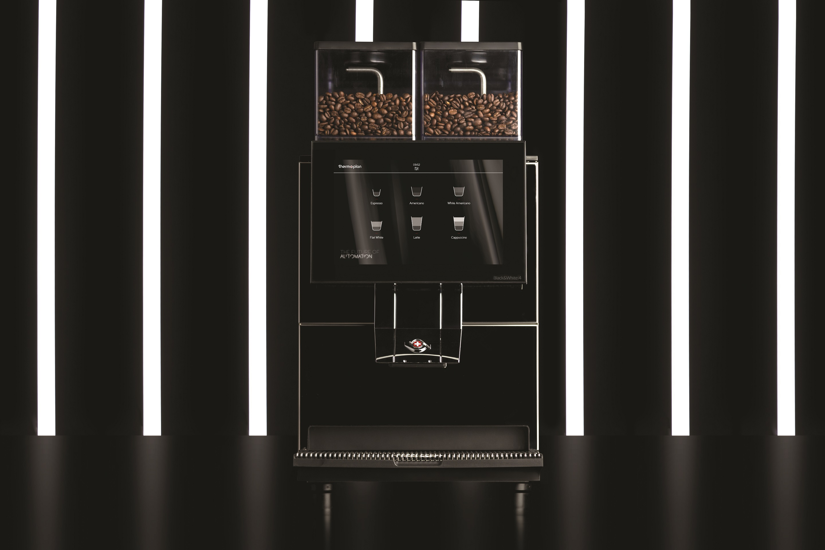 Thermoplan Black&White4 super automatic coffee machine