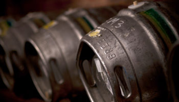 Greene King beer barrels