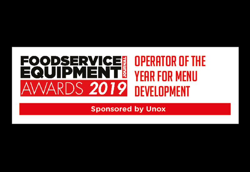 Operator of the Year for Menu Development 2019