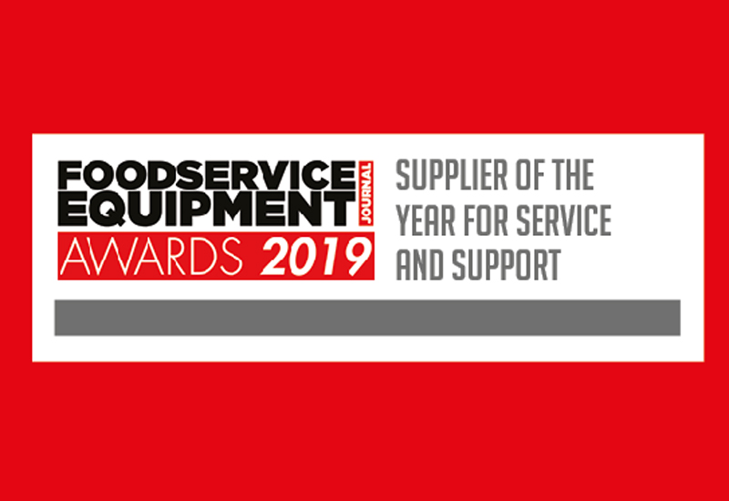 Supplier of the Year for Service & Support 2019