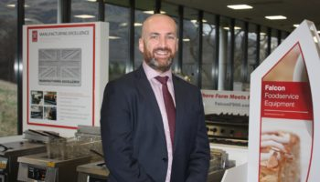 Peter McAllister, managing director