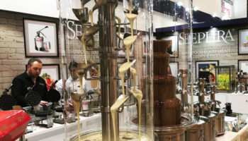 Sephra Europe chocolate fountains