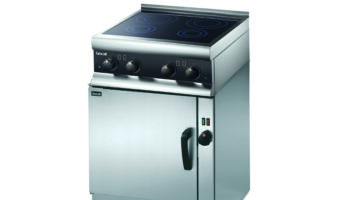 V6 oven with SLI induction hobs