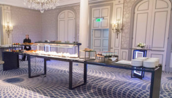Venta buffet equipment at The Savoy hotel