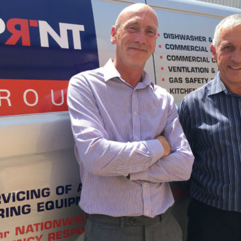 Martin Lyon, sales manager East Anglia and Ian Bryant, sales director