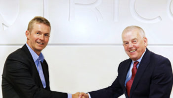 Mike Coldicott, managing director, Tricon and Garry Nokes, managing director, Grantham Winch Partnership