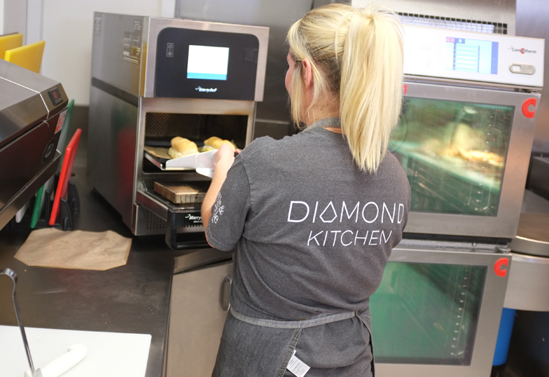 Merrychef at Diamond Kitchen, Sheffield University