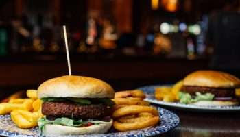 The Meatless Farm Co plant-based burger at JD Wetherspoon