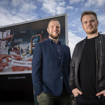Jamie Mendez, operations manager, and Luke Wolsey, managing director