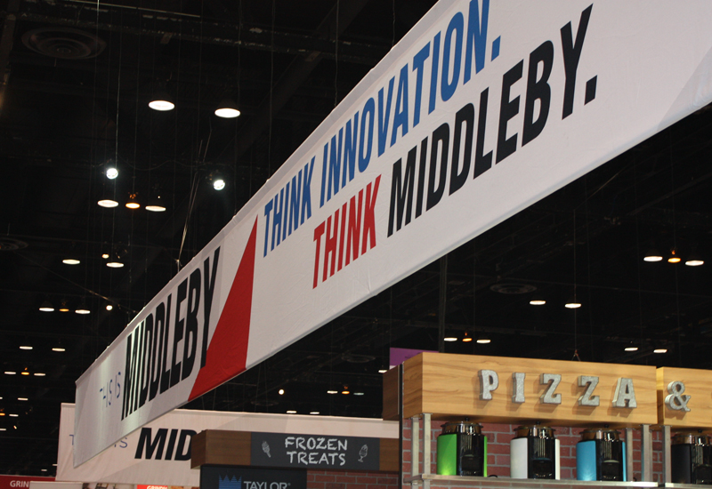 Middleby stand NRA Show 2019