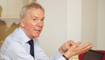 Keith Warren, chief executive