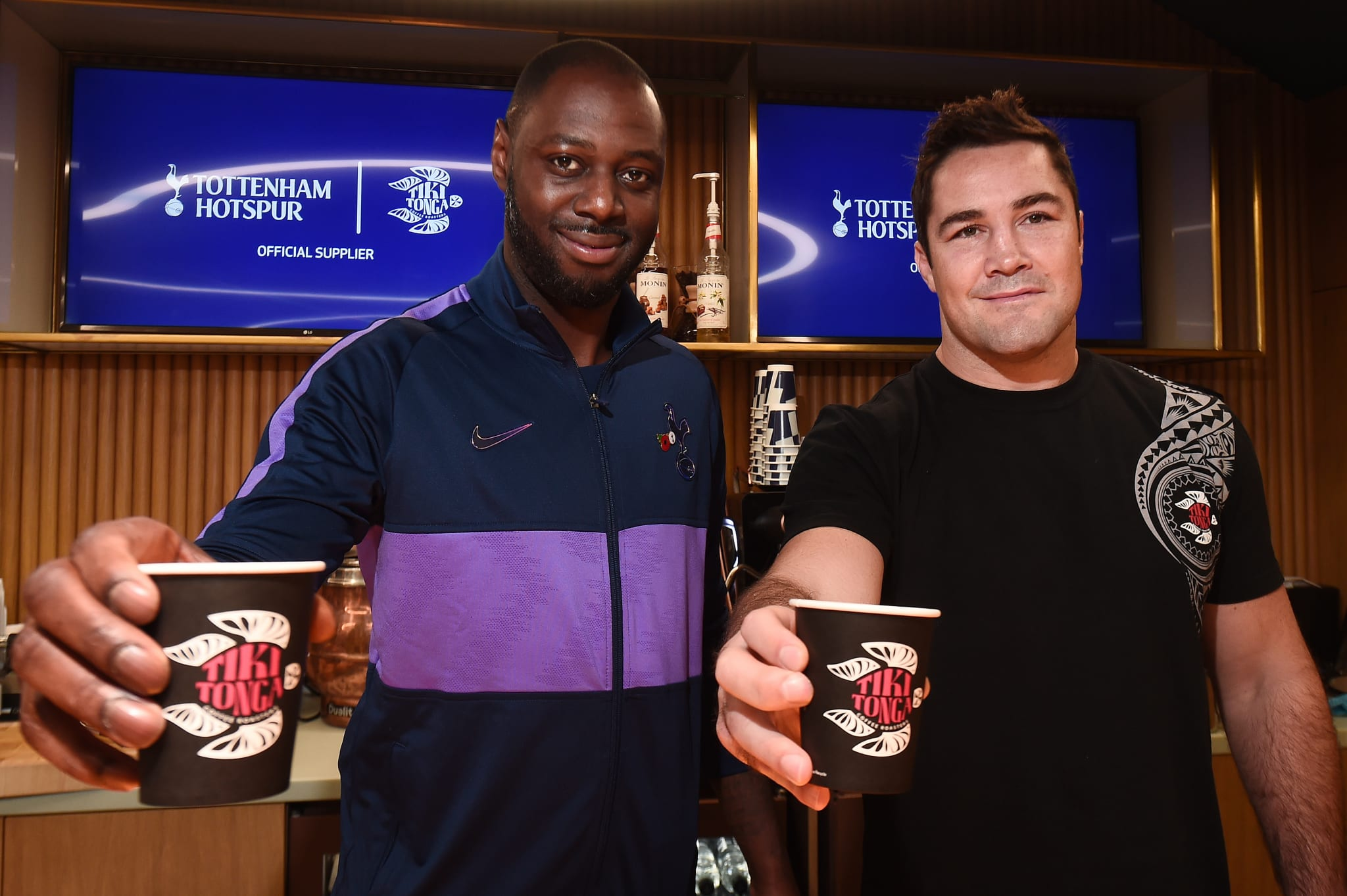 Ledley King, Tottenham Hotspur, and Saracens captain Brad Barritt, Saracens and co-founder Tiki Tonga